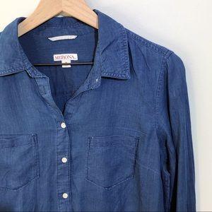 Merona | Navy Popover Button Down Shirt